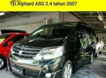 2007 Toyota Alphard 2.4 NA Dijual