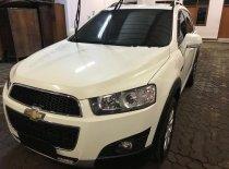 Chevrolet Captiva Pearl White 2013 SUV dijual