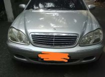 Jual Mercedes-Benz S-Class 2002 kualitas bagus
