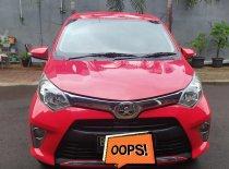 Dijual cepat mobil Toyota Calya G 4 silinder 2017 Manual Merah, DKI Jakarta