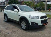 Chevrolet Captiva Pearl White 2014 SUV dijual