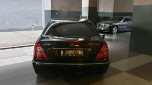 Mercedes-Benz E-Class 2003 Sedan dijual