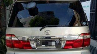 Jual Toyota Alphard 2004, harga murah