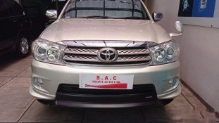 Toyota Fortuner G TRD 2011 SUV dijual