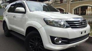 Toyota Fortuner G 2015 SUV dijual
