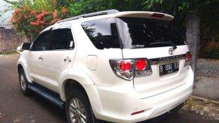 Toyota Fortuner G 2012 SUV dijual