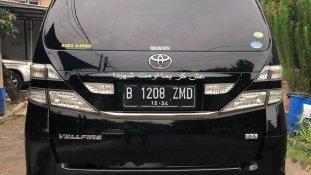 Jual Toyota Vellfire 2010 termurah