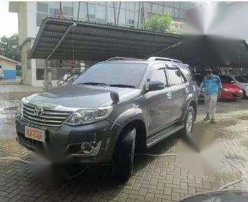 Jual mobil Toyota Fortuner 2012
