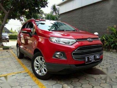 Jual Ford Ecosport Titanium Automatic 2014 Merah Dp Ceper-1