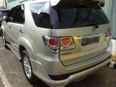 Toyota Fortuner TRD G Luxury 2013 SUV dijual