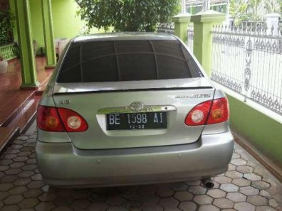 Toyota Corolla Altis G 2002 Sedan dijual-1