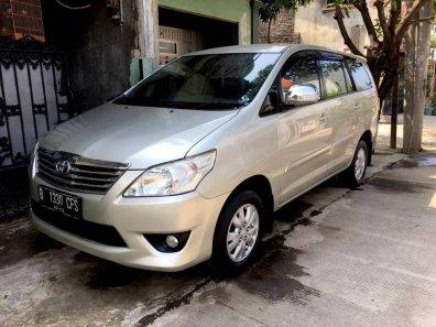 Toyota Kijang Innova 2.0 G 2012 MPV dijual-1