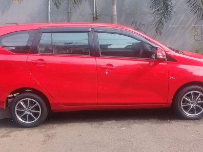 Dijual cepat mobil Toyota Calya G 4 silinder 2017 Manual Merah, DKI Jakarta-1